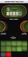Casino Poker Table Pack by MikiMikibo
