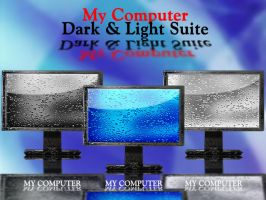 My Computer.Dark and Light. by klen70