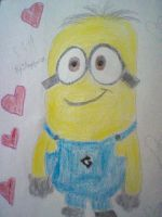 Jimmy the Minion. by Angelgirl10