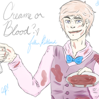 Creame or Blood? by xIlluminance