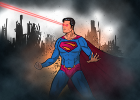 Superman Redesign by NiteOwl94