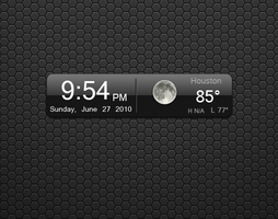 iPhone 4G clock by TechII