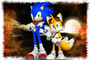 Brothers Forever by SonicXBoom123