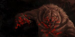 Werewolf Speedpaint 6 by Atan