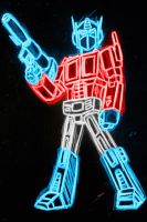optimus prime neon by AlanSchell