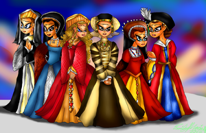 The Wives of Henry VIII by lollypop081