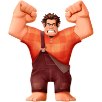 SFA - Ralph - Transparent Render by zelc-face