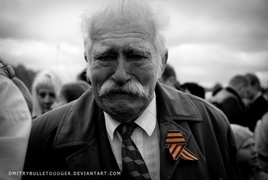 Tears of the veteran by Dmitrybulletdodger