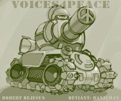Voices 4 Peace CD pt2 by Banzchan