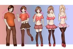 Panties and Stockings - TG by Luxianne