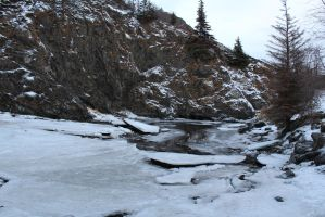 Alaska Stock, McHugh Creek 1 by audreystocks