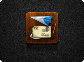 Sparrow Contest Icon #2 - Jaku theme - iPhone/iPod by iGeriya