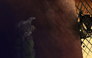 Hiding until something happens by NeroInu