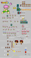 Tomba spritesheet 95 by chaoticdarkness
