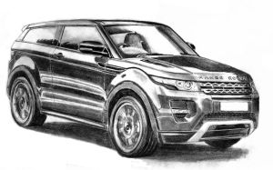 Land Rover Evoque by M-J-M-A