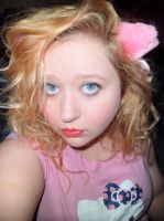 Pink Kitty Ears :) by AcsendSeraphim