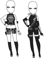 Naruto Outfit Adoptables 2 CLOSED by XMelodyHime