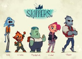 Skippers by rileyphillipsart