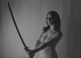 Sword Play by Stephanie-van-Rijn
