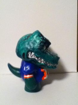 Florida Gator Tebow Munny -side view- by Last-Superpower