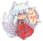 Inuyasha: Demon Puppy by saltycatfish