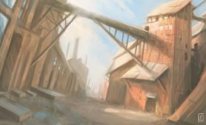 Old Factory by LyntonLevengood