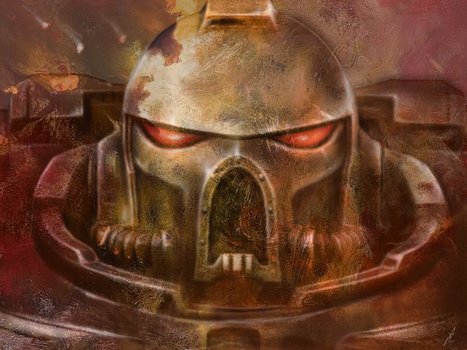 Space Marine battle brother by FredrikEriksson1