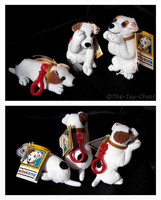 Wishbone - Keychain Plush Trio by The-Toy-Chest