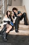 Squall's outfit and Amano by Eyes-0n-Me