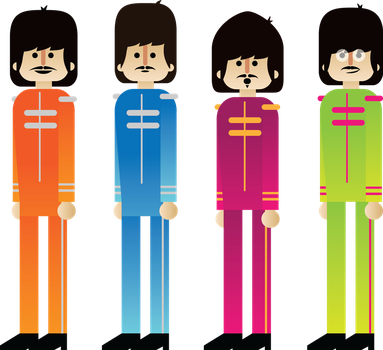 Pepper's Beatles by GuillermoVA