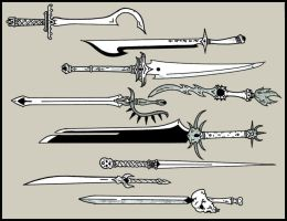 Swords of Darkness by Koshindou