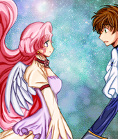 AF - Euphie and Suzaku by sojourney