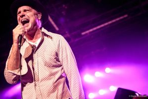The Tragically Hip:  Gord Downie on Canada Day by basseca