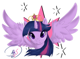 Twilight Sparkle Crest by yukimujaki68