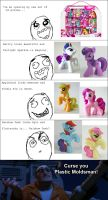 Rage Comic - Lazy MLP Repaint by Stitchfan