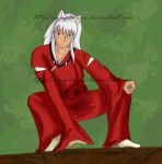 Inuyasha for brokenheart23 by Xing-Darcie