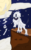 Absol Drawing by Taz-X