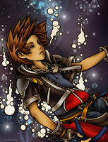 Kindgom Hearts: Sora by Christinies