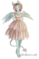 Neopets Trade: Chekeface4444 The Striped Korbat by Blesses