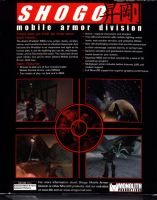 Shogo: Mobile Armor Division Back Cover by derrickthebarbaric