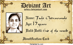 Identification Card by vedica