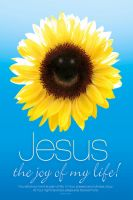 JESUS IS MY JOY - Christian religious poster by davidsorensen