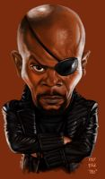 Nick Fury by rommel3075