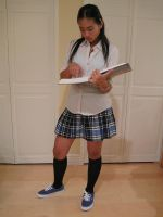 Private School  Girl 46 by imagine-stock