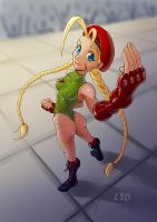 Cammy by Livius3d