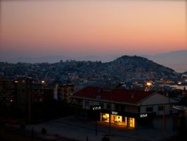 Kusadasi in the evening by jacobjellyroll