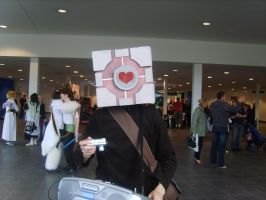 Companion Cube by Elle-Ectricity