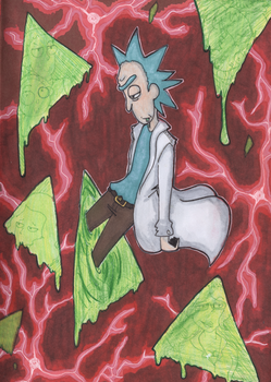 'I'm not driven by avenging my dead family Morty' by SafiraCanislupus