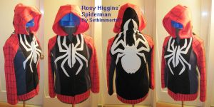 Rosy Higgins' Spiderman Hoodie by SethImmortal