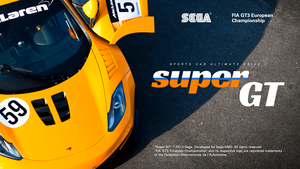 Super GT 2: Title Screen by jetsetsonic